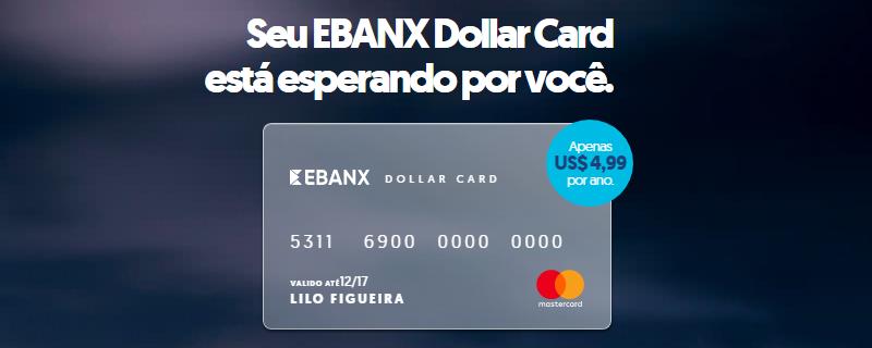 Cartão EBANX Dollar Card