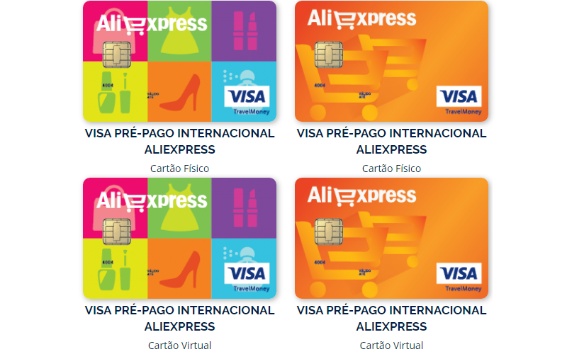 compras-online-cartao-pre-pago-aliexpress-modelos