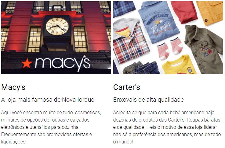 Macy's e Carter's