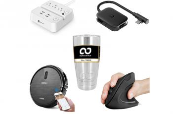 Ofertas internacionais da semana: Mouse vertical Anker, adaptador USB-C para HDMI e mais