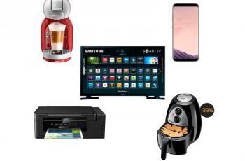 Ofertas nacionais da semana: Smart TV, Mondial Air Fryer, Dolce Gusto e mais