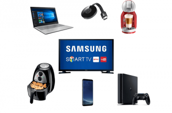 Ofertas nacionais da semana: Chromecast, Air Fryer, Playstation e mais