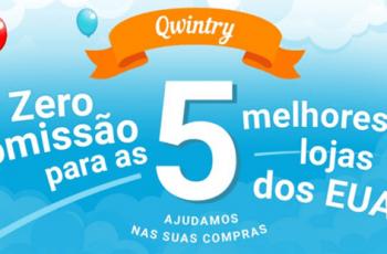 Qwintry com serviço de ajuda nas compras grátis