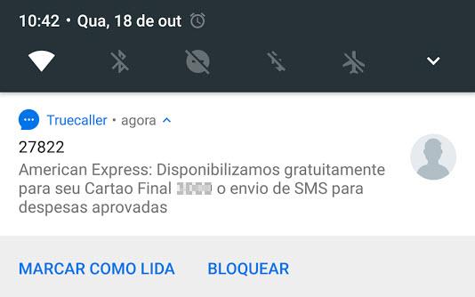 SMS Amex