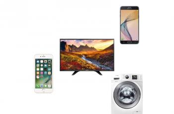 Ofertas nacionais da semana: Smartphone, TV, lava e seca, iPhone e mais