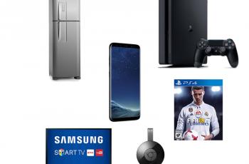Ofertas nacionais da semana: Smartphone, TV, refrigerador, playstation e mais