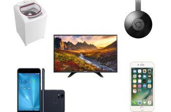 Ofertas nacionais da semana: TV LED, Google Chromecast, XBOX, Máquina de Lavar e mais