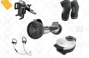 Ofertas internacionais da semana: Hoverboard, fone de ouvido sem fio, base veicular para celular e mais