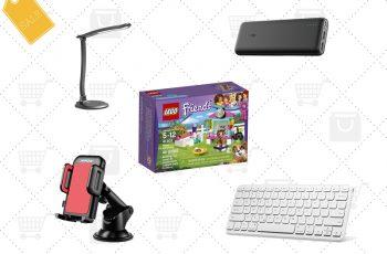 Ofertas internacionais da semana: Lego Friends, power bank, teclado wireless, luminária de mesa e mais