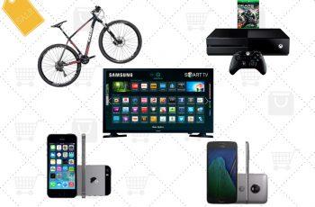 Ofertas nacionais da semana: Motorola G5, iPhone 5s, Bicicleta, TV, Mondial AirFryer e mais